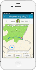 Dog Tracker Plus App